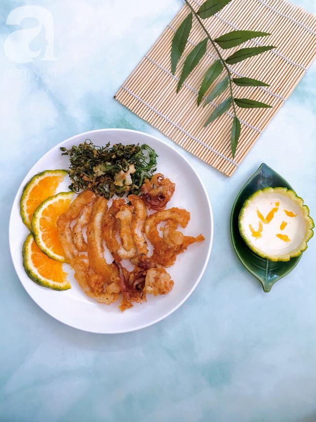 Đãi cả nhà món mực chiên sốt cam chuẩn nhà hàng 5* cho bữa trưa cuối tuần lạ miệng - Ảnh 6.
