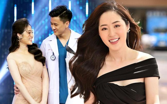 """Người ấy là ai?: """"Nữ thần thời tiết"""" Thanh Tâm kể về bác sĩ điển trai Quang Lâm, tiết lộ lý do không đi thi Hoa hậu  - Ảnh 2."""
