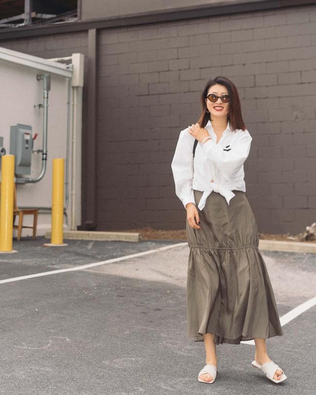 """Nàng fashion blogger gợi ý 9 set màu trung tính để chị em công sở dù """"vụng về"""" hay không có nhiều đồ vẫn mặc đẹp khỏi nghĩ - Ảnh 4."""