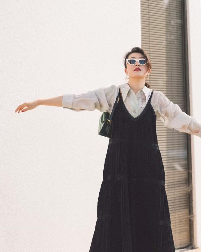 """Nàng fashion blogger gợi ý 9 set màu trung tính để chị em công sở dù """"vụng về"""" hay không có nhiều đồ vẫn mặc đẹp khỏi nghĩ - Ảnh 3."""