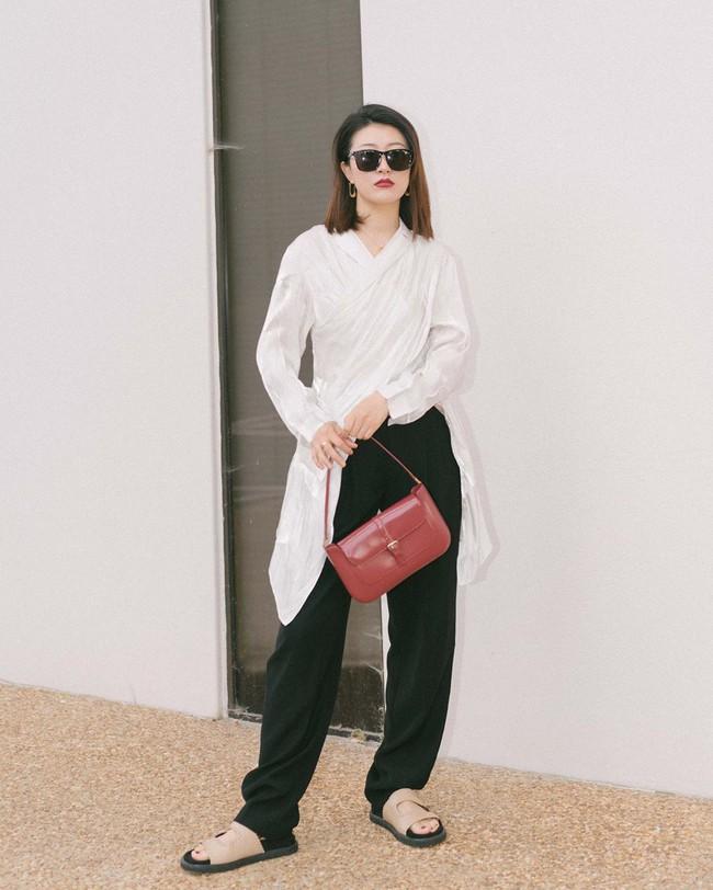 """Nàng fashion blogger gợi ý 9 set màu trung tính để chị em công sở dù """"vụng về"""" hay không có nhiều đồ vẫn mặc đẹp khỏi nghĩ - Ảnh 9."""