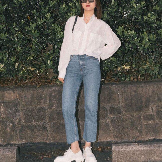 """Nàng fashion blogger gợi ý 9 set màu trung tính để chị em công sở dù """"vụng về"""" hay không có nhiều đồ vẫn mặc đẹp khỏi nghĩ - Ảnh 6."""