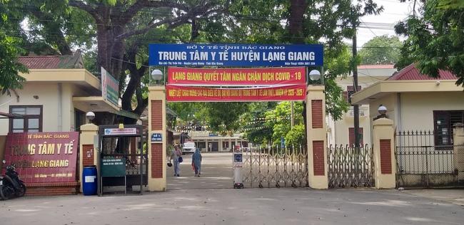 Trung tâm Y tế huyện Lạng Giang nơi ban đầu bệnh nhân đến sinh con