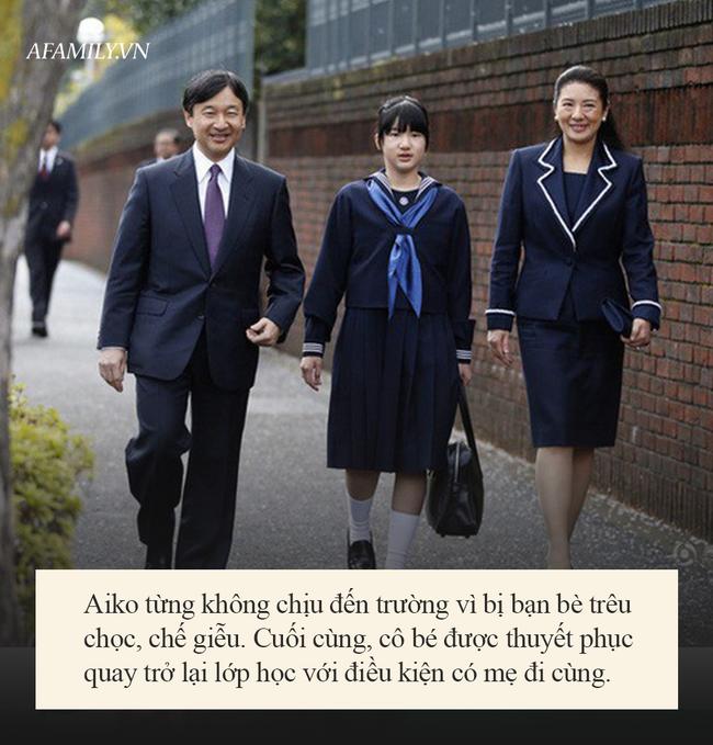 Khổ như công chúa Nhật Bản: Từ nhỏ đã được dạy dỗ cực nghiêm khắc, từng bị dân thường bắt nạt vì nguyên nhân này - Ảnh 4.