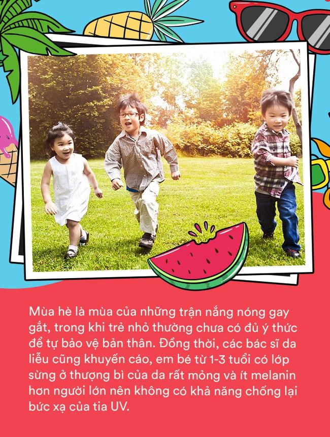 Mùa hè - mùa vui của con trẻ, nhưng bố mẹ cần làm gì để bé vừa có thể vui chơi lại vẫn được an toàn? - Ảnh 1.