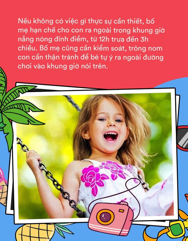 Mùa hè - mùa vui của con trẻ, nhưng bố mẹ cần làm gì để bé vừa có thể vui chơi lại vẫn được an toàn? - Ảnh 3.