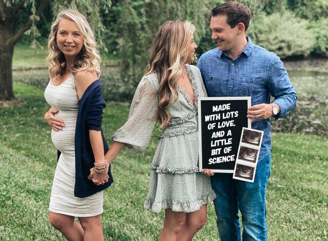 Một bà mẹ không thể mang thai nhưng lại thông báo sắp đón con đầu lòng, nghe kể xong câu chuyện ai cũng rưng rưng nước mắt - Ảnh 1.