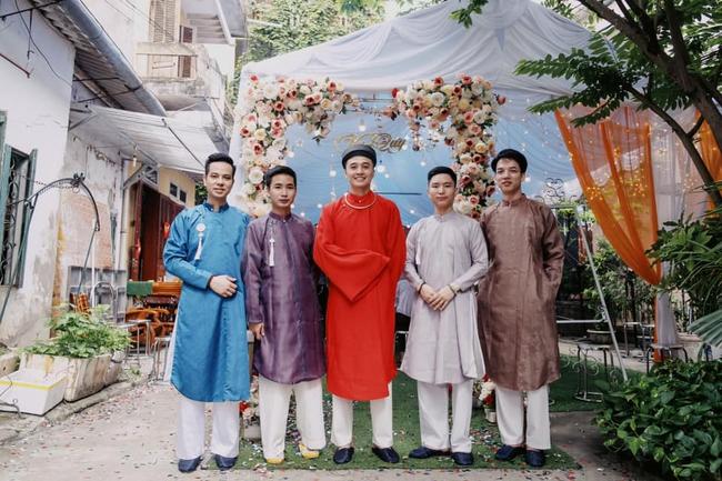 Cặp đôi sử dụng Nhật Bình - Áo Tấc trong đám cưới tại Cao Bằng, tiết lộ của chú rể về người thực hiện mọi công đoạn mới bất ngờ - Ảnh 6.