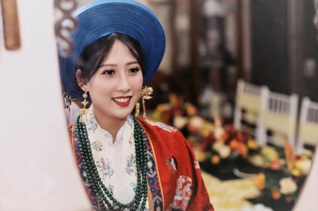 Cặp cô dâu chú rể sử dụng Nhật Bình - Áo Tấc trong đám cưới tại Cao Bằng, nhan sắc dâu rể khiến bất cứ ai cũng phải xuýt xoa - Ảnh 1.