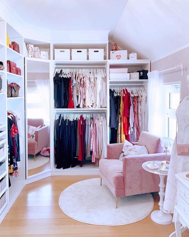 Những kiểu dáng tủ quần áo vừa thời trang vừa giúp đựng được vô số đồ đạc dành cho nhà nhỏ - Ảnh 10.