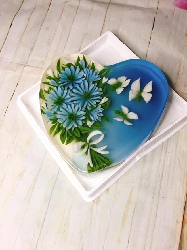"""Mẹ 8x """"gây bão"""" MXH với loạt món ăn xanh mướt từ hoa đậu biếc, chỉ nhìn đã thấy mát lịm tim! - Ảnh 7."""