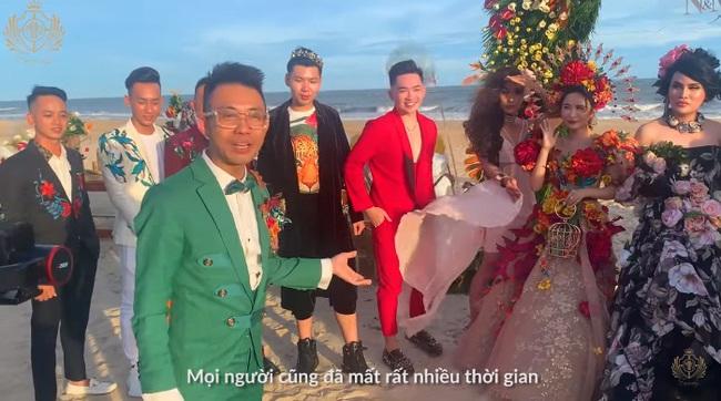 Minh Nhựa và vợ hai Mina Phạm trao nhau món quà 12 tỷ đồng trên sân khấu tropical siêu hoành tráng - Ảnh 2.