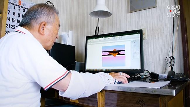 Gây ám ảnh với hội công sở nhưng Excel lại được ông cụ 80 tuổi này sử dụng để... vẽ tranh, nhìn vào các tác phẩm ai cũng sốc - Ảnh 1.