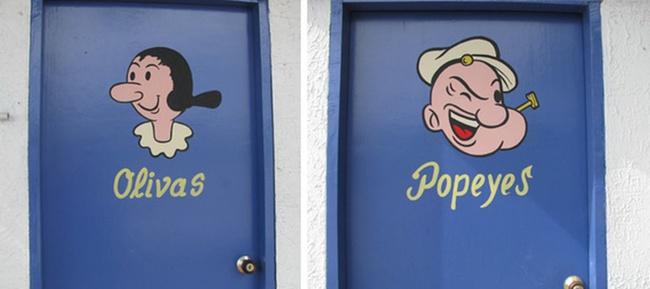 Những tấm biển chỉ dẫn nhà vệ sinh hài hước và độc đáo khiến ai cũng phải công nhận sức sáng tạo của con người thật không có giới hạn - Ảnh 9.
