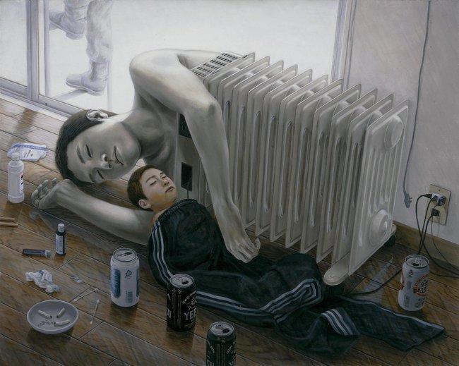 Qua đời ở tuổi 31, họa sĩ Nhật để lại loạt tác phẩm siêu thực ám ảnh thế giới, nhiều dân công sở thấy mình trong đó - Ảnh 19.