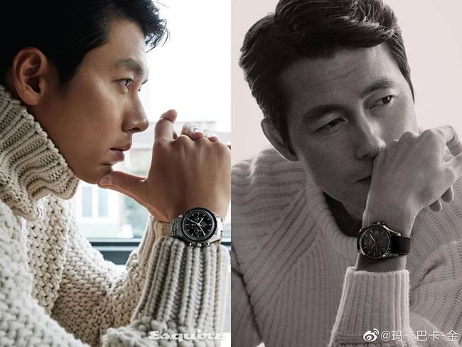 """Điểm trùng hợp đến khó tin của Hyun Bin và Jung Woo Sung: Không chỉ đều là """"người tình"""" của Son Ye Jin và còn giống nhau tới mức bất ngờ này    - Ảnh 4."""