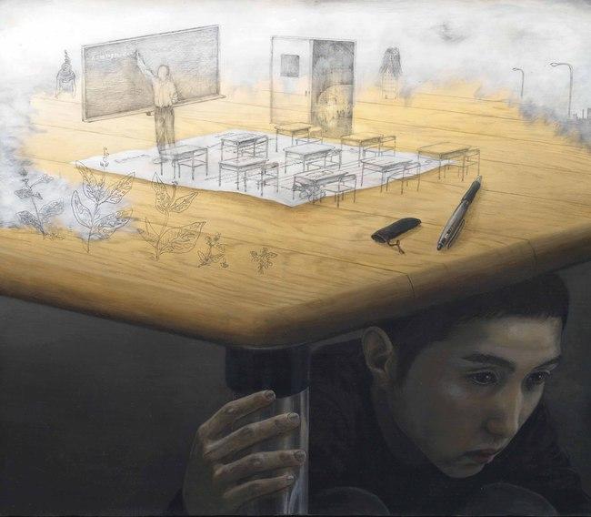 Qua đời ở tuổi 31, họa sĩ Nhật để lại loạt tác phẩm siêu thực ám ảnh thế giới, nhiều dân công sở thấy mình trong đó - Ảnh 20.