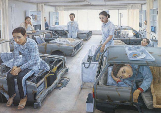 Qua đời ở tuổi 31, họa sĩ Nhật để lại loạt tác phẩm siêu thực ám ảnh thế giới, nhiều dân công sở thấy mình trong đó - Ảnh 11.