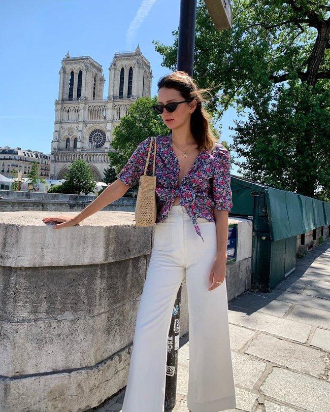 Phụ nữ Pháp cũng mê đồ tím lắm chứ không vừa, chị em mau tham khảo 13 set đồ sau để mở mang tầm mắt - Ảnh 5.