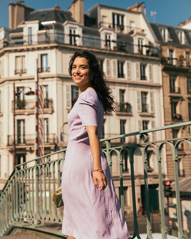 Phụ nữ Pháp cũng mê đồ tím lắm chứ không vừa, chị em mau tham khảo 13 set đồ sau để mở mang tầm mắt - Ảnh 13.