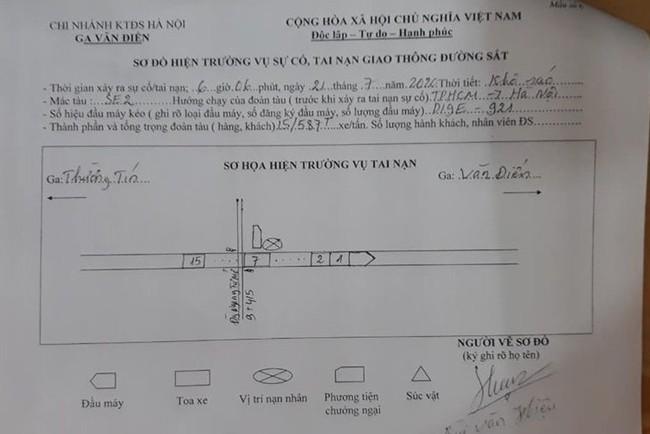 Hà Nội: Truy tìm thân nhân vụ người đàn ông mặc áo Grab tử vong sau khi bị tàu hỏa đâm - Ảnh 3.