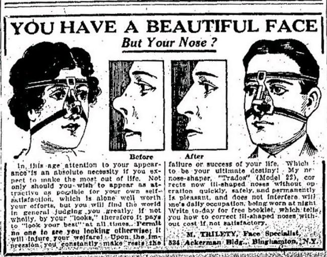 Chị em phụ nữ của 100 năm trước cùng với những phương pháp làm đẹp đôi khi trông đáng sợ không khác gì phim kinh dị - Ảnh 9.