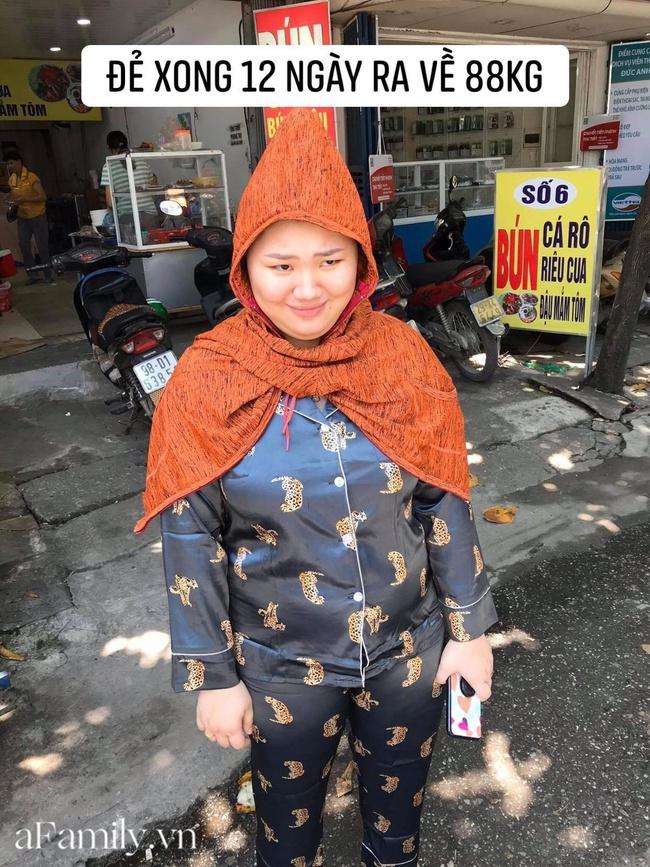 Lên bàn đẻ nặng gần 100kg, sinh xong tự ti không dám ra đường, mẹ Hà Nội quyết lấy lại dáng nhờ chế độ ăn đặc biệt - Ảnh 3.
