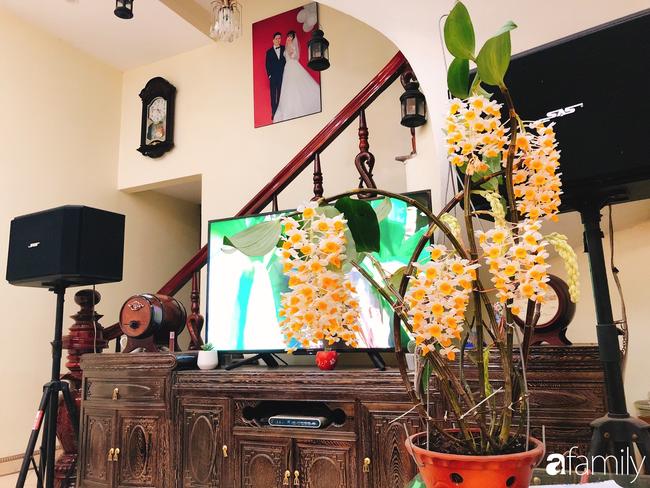 Ngắm ngôi nhà 3 tầng ở Thái Bình với hành lang được trồng 100 giò phong lan khoe sắc 4 mùa khiến hàng xóm đi qua ai cũng ngẩn ngơ - Ảnh 24.