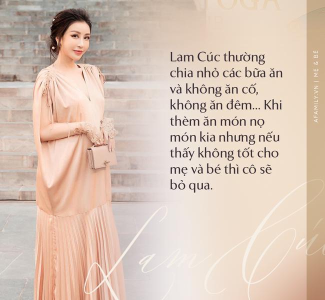 """Hoa hậu Lam Cúc sinh 3 con vẫn đẹp như gái đôi mươi nhờ lúc bầu bí ăn theo chế độ """"vào con không vào mẹ"""" - Ảnh 4."""
