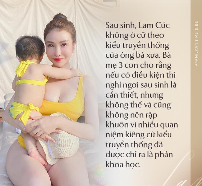 """Hoa hậu Lam Cúc sinh 3 con vẫn đẹp như gái đôi mươi nhờ lúc bầu bí ăn theo chế độ """"vào con không vào mẹ"""" - Ảnh 8."""