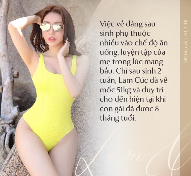 """Hoa hậu Lam Cúc sinh 3 con vẫn đẹp như gái đôi mươi nhờ lúc bầu bí ăn theo chế độ """"vào con không vào mẹ"""" - Ảnh 9."""