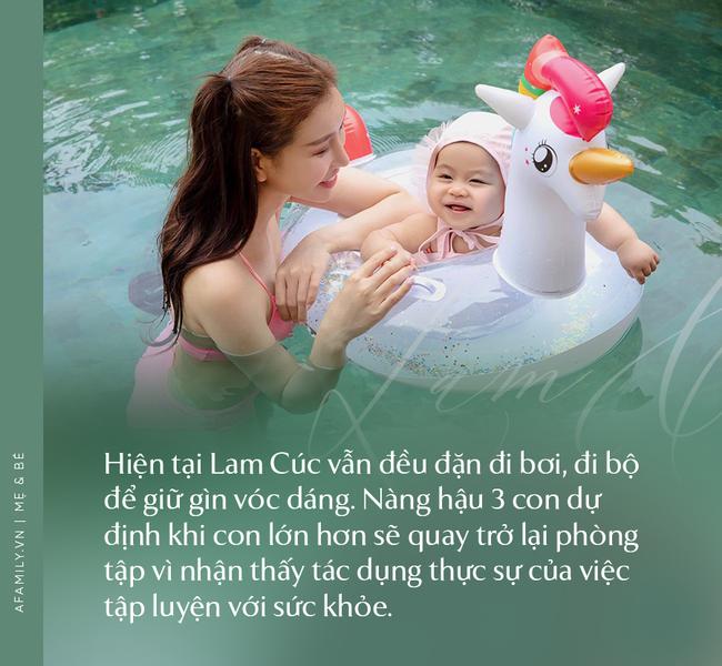 """Hoa hậu Lam Cúc sinh 3 con vẫn đẹp như gái đôi mươi nhờ lúc bầu bí ăn theo chế độ """"vào con không vào mẹ"""" - Ảnh 11."""