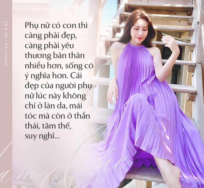 """Hoa hậu Lam Cúc sinh 3 con vẫn đẹp như gái đôi mươi nhờ lúc bầu bí ăn theo chế độ """"vào con không vào mẹ"""" - Ảnh 14."""