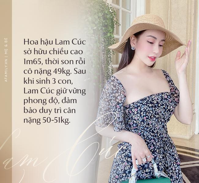 """Hoa hậu Lam Cúc sinh 3 con vẫn đẹp như gái đôi mươi nhờ lúc bầu bí ăn theo chế độ """"vào con không vào mẹ"""" - Ảnh 1."""