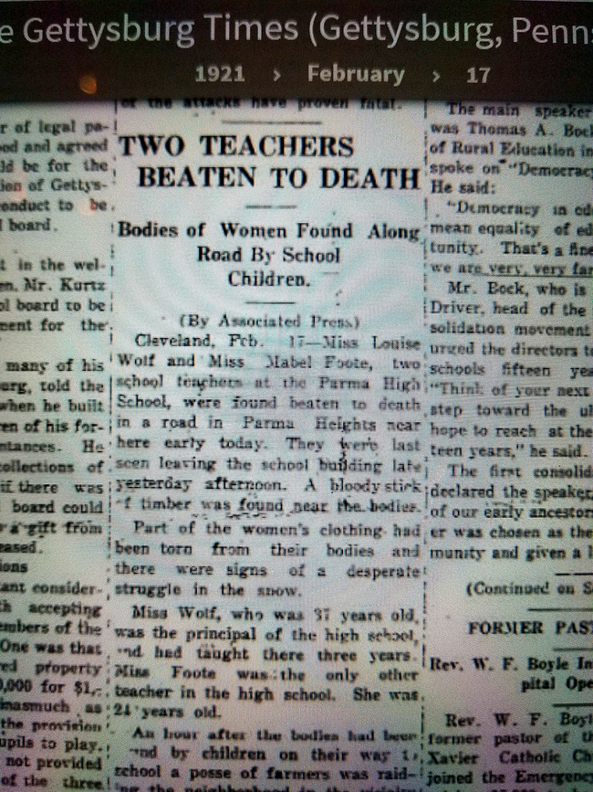 3 cậu học sinh đi đến trường thì phát hiện thi thể 2 cô giáo nằm bên đường, mở đầu cho một vụ án khiến cảnh sát đau đầu đi tìm lời giải suốt 1 thế kỷ qua - Ảnh 5.