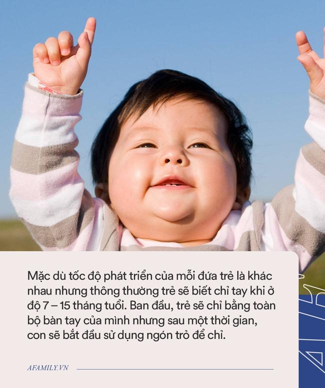 Trẻ biết chỉ tay càng sớm thì khả năng sử dụng ngôn ngữ cũng như học tập càng tốt - Ảnh 2.