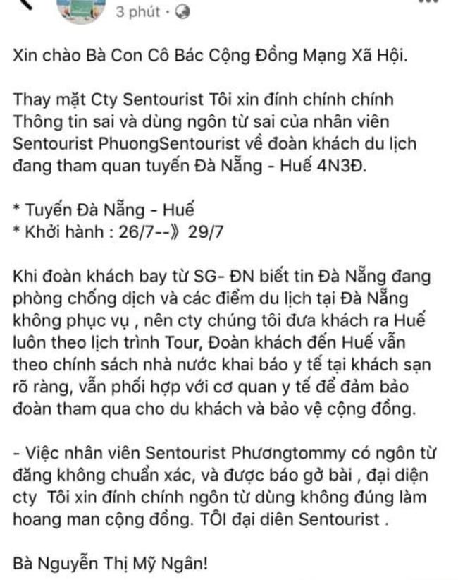 """Hướng dẫn viên du lịch lên mạng xã hội khoe đã """"tẩu thoát"""" thành công đoàn khách khỏi Đà Nẵng khiến dư luận phẫn nộ - Ảnh 2."""