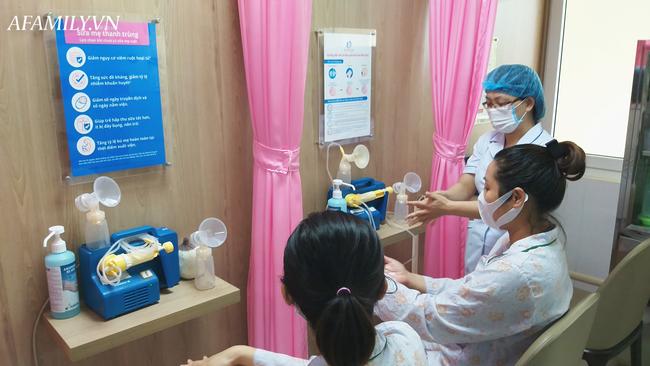 Thăm ngân hàng sữa mẹ đầu tiên tại bệnh viện ở miền Bắc - Ảnh 3.