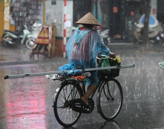 Ảnh: Hà Nội đón nhận cơn mưa lớn sau ngày chất lượng không khí ở mức nguy hại cho sức khỏe - Ảnh 10.