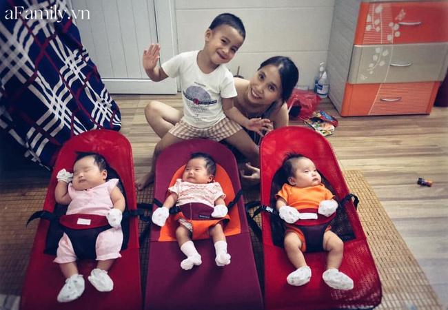 Hành trình đặt cược số phận để giữ 3 con sinh ba của cặp vợ chồng Hà Tĩnh, ly kỳ đến tận ngày đi đẻ - Ảnh 4.