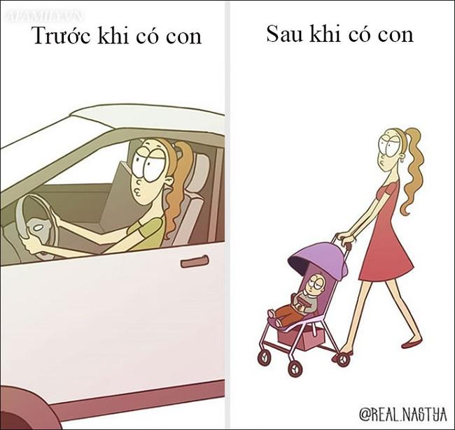 Cười té ghế với bộ tranh hài hước miêu tả nghề làm mẹ thật đến từng centimet  - Ảnh 12.