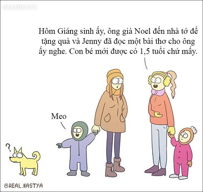 Cười té ghế với bộ tranh hài hước miêu tả nghề làm mẹ thật đến từng centimet  - Ảnh 14.