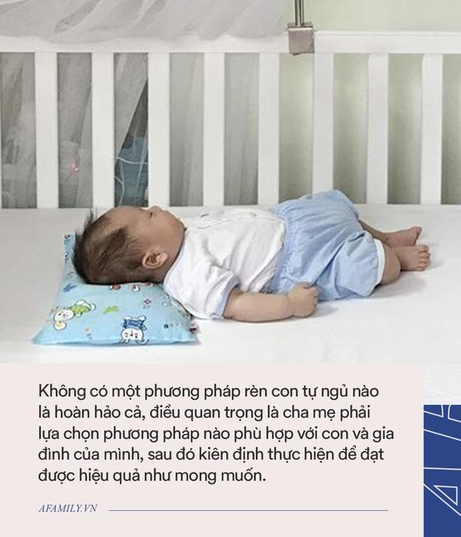 """Nếu không thể luyện ngủ cho con chỉ vì sợ nghe con khóc, bố mẹ có thể thử phương pháp  """"không tiếng khóc"""" này - Ảnh 4."""