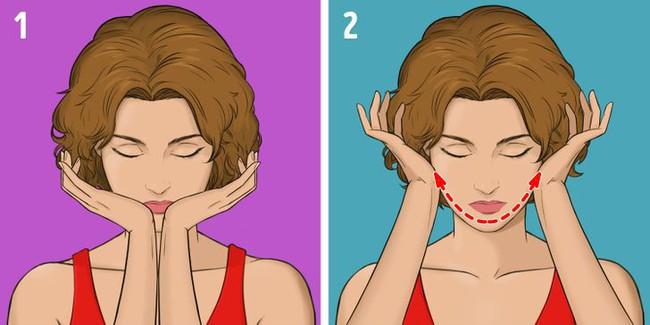 """Được coi là phương pháp massage """"làm cho khuôn mặt trẻ hơn 10 tuổi"""" mà không tốn kém, chị em tiếc gì 5 phút mỗi ngày mà không thực hiện ngay - Ảnh 10."""