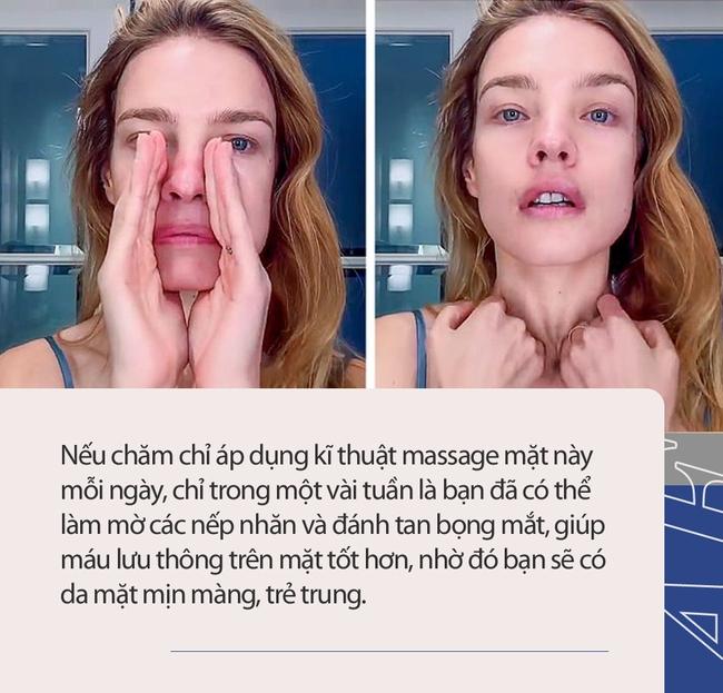 """Được coi là phương pháp massage """"làm cho khuôn mặt trẻ hơn 10 tuổi"""" mà không tốn kém, chị em tiếc gì 5 phút mỗi ngày mà không thực hiện ngay - Ảnh 1."""
