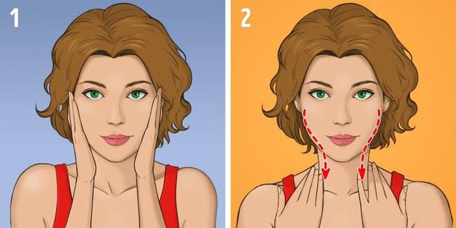 """Được coi là phương pháp massage """"làm cho khuôn mặt trẻ hơn 10 tuổi"""" mà không tốn kém, chị em tiếc gì 5 phút mỗi ngày mà không thực hiện ngay - Ảnh 2."""