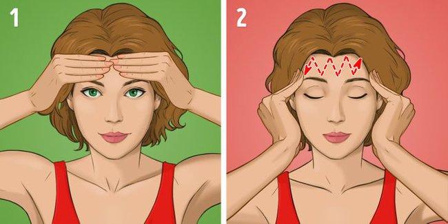 """Được coi là phương pháp massage """"làm cho khuôn mặt trẻ hơn 10 tuổi"""" mà không tốn kém, chị em tiếc gì 5 phút mỗi ngày mà không thực hiện ngay - Ảnh 4."""