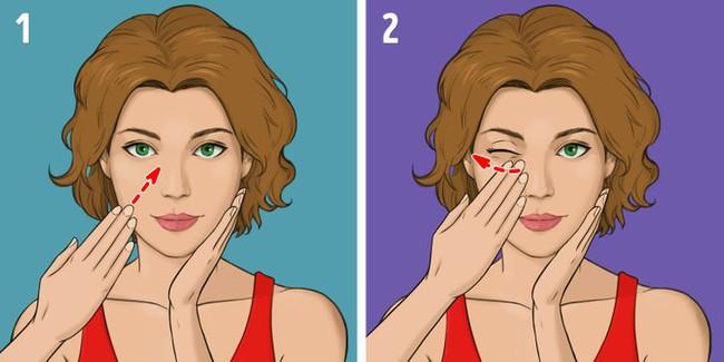 """Được coi là phương pháp massage """"làm cho khuôn mặt trẻ hơn 10 tuổi"""" mà không tốn kém, chị em tiếc gì 5 phút mỗi ngày mà không thực hiện ngay - Ảnh 7."""