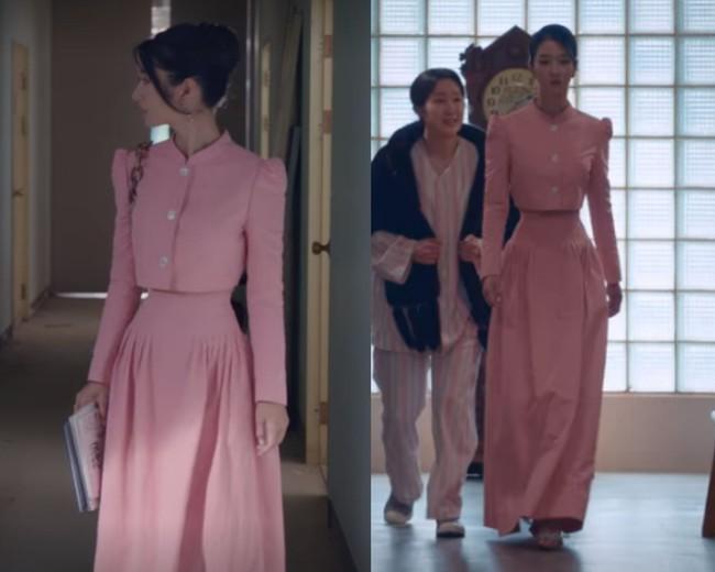 Dân tình sục sôi với vòng eo bé ngoài sức tưởng tượng của Seo Ye Ji (Điên Thì Có Sao) khi diện crop top - Ảnh 1.