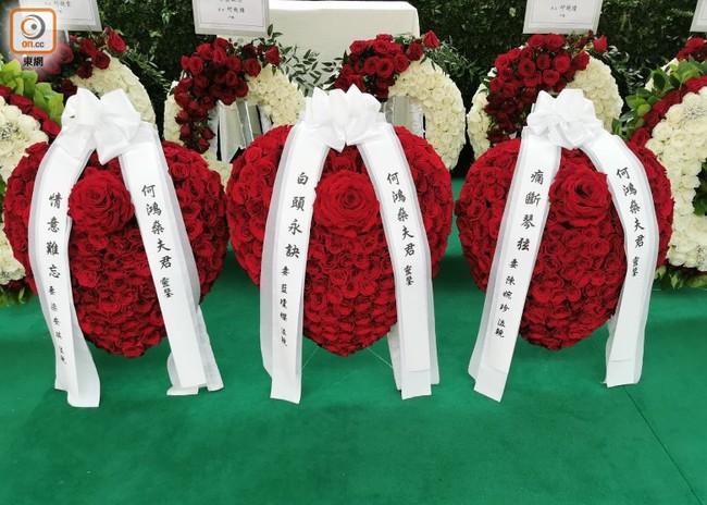 Sau cỗ quan tài trị giá gần 24 tỷ, tang lễ Vua sòng bài Macau tiếp tục gây chú ý với con số 6 tỷ chi phí hoa hồng trưng bày - Ảnh 2.